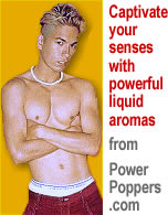Liquid aroma and incense from Power Poppers .com